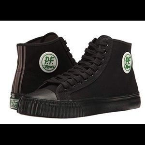 PF-Flyers Hi Rise top sneakers like new worn once
